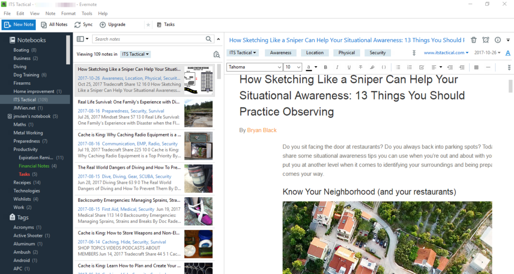 An ITS Tactical article clipped using the Evernote Web Clipper.